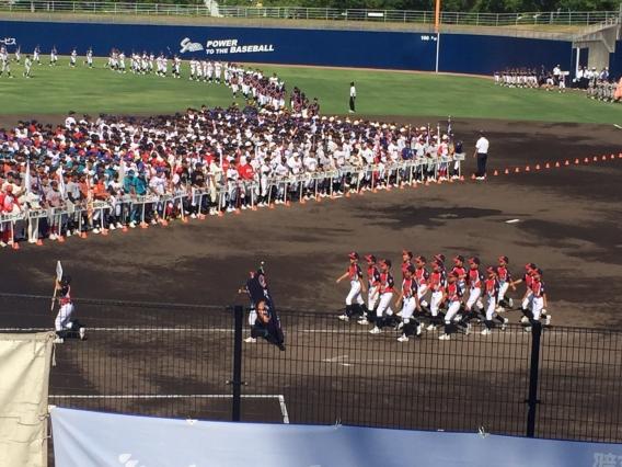 選手権大会開幕